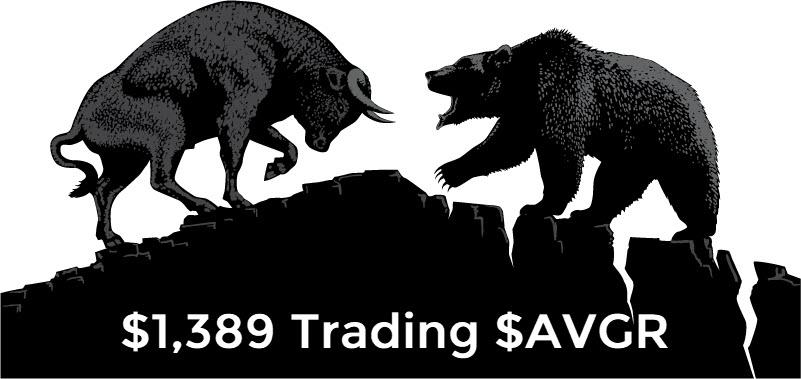 $1,389 Today Trading $AVGR