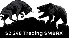 $2,248 Today Trading $MBRX