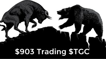 $903 Today Trading $TGC